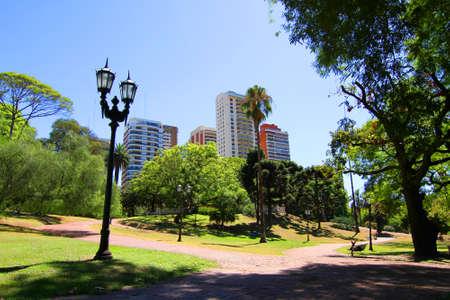 The Plaza Barrancas de Belgrano in Buenos Aires, Argentina