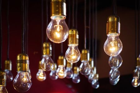 Photo for light bulbs close up - Royalty Free Image