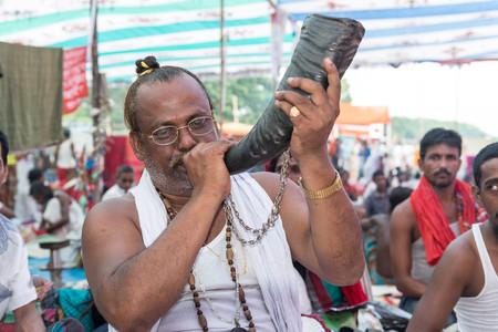 Kushtia, Bangladesh - October 17, 2014: Follower of Lalon shai Mazar who came to the Mazar to show their respect to Lalon shai on the occasion of the anniversary of his death at Kushtia, Bangladesh