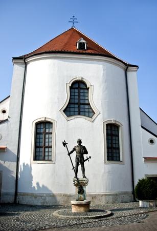 Roman Catholic church of St Gotthard  Szent Gotthard , Mosonmagyarovar