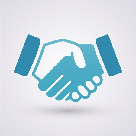 Illustration pour  Handshake icon - image libre de droit