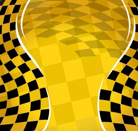 Illustration pour  checkered racing background   - image libre de droit