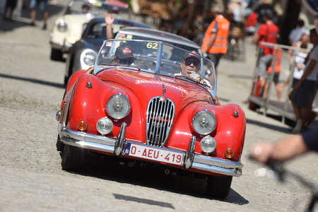 Classic car in Steyr - The Ennstal-Classic is one of the best-known classic car rallies in Austria and Europe for historic automobiles built up to 1972