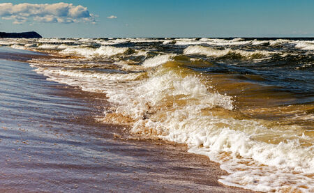 Waves on the Baltic Sea