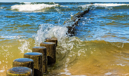 small waves on the Baltic Sea