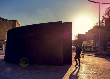 """Gedenk- und Informationsort fÌr die Opfer der Nationalsozialistischen ›Euthanasie-Morde"""" in Berlin Tiergarten"""
