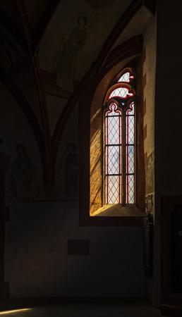 Window in a church