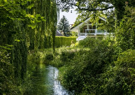 small river in the Spreewald