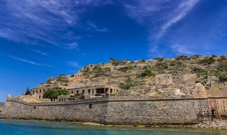 Fortress Spinalonga in Crete