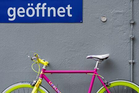 colorful bike