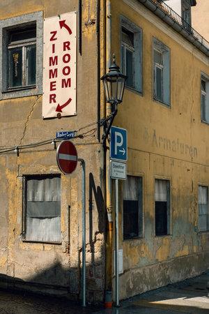 ruin in the city of Meissen