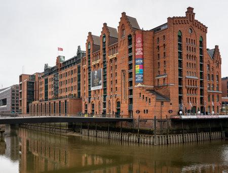 Maritime museum in Hamburg's Speicherstadt