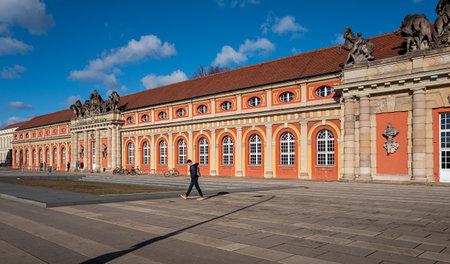 Facade of the Potsdam Film Museum