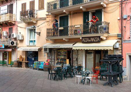 Souvenir shop in Italy