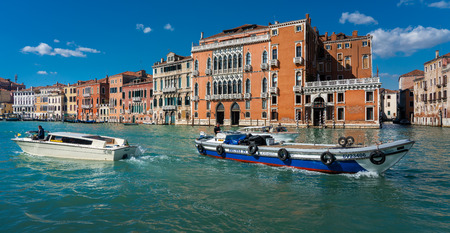 House on the Grand Canal in Venice