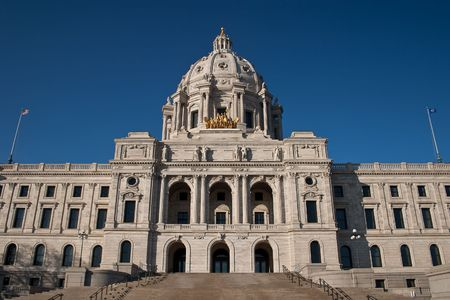 The Minnesota State Capitol is located in Minnesota's capital city, Saint Paul, and houses the Minnesota Senate, Minnesota House of Representatives, the Office of the Attorney General and the Office of the Governor.