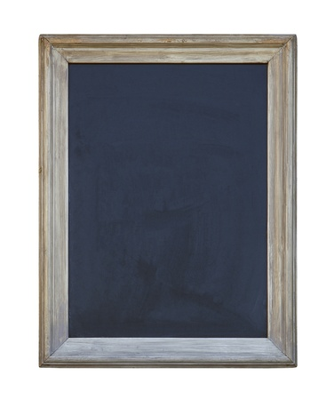 Old blackboard with clipping path