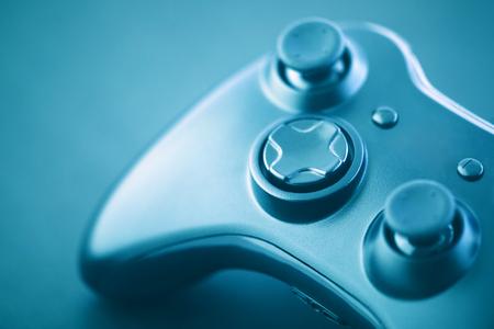 Foto de Video game controller macro shot - Imagen libre de derechos