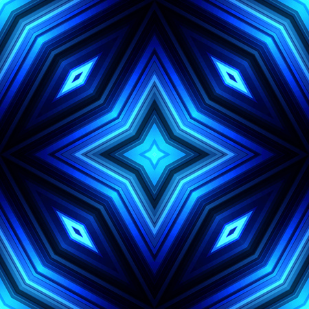 Vector illustration blue glowing background for greeting card, postcard, business card or poster