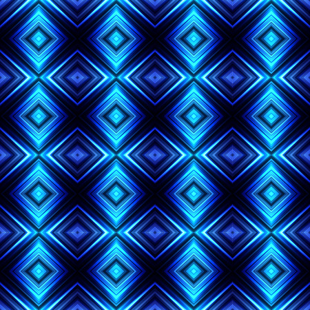 Vector illustration blue glowing seamless background for greeting card, postcard, business card or poster