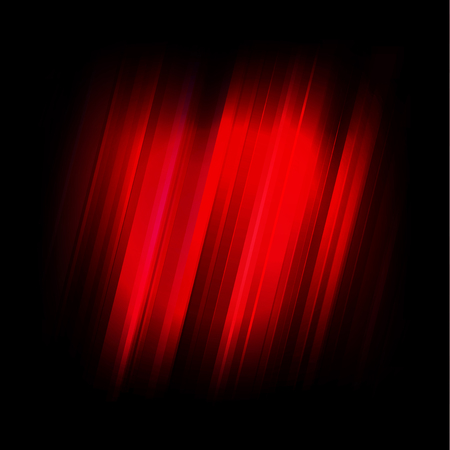 Abstract vector illustration red and black background.