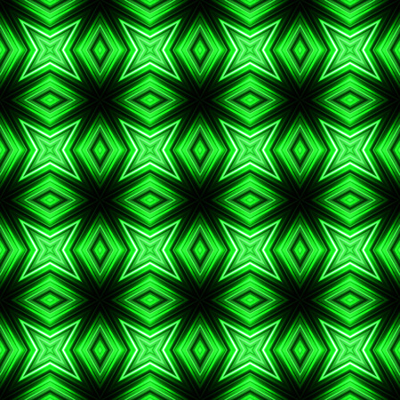 Vector illustration green glowing seamless background for greeting card, postcard, business card or poster