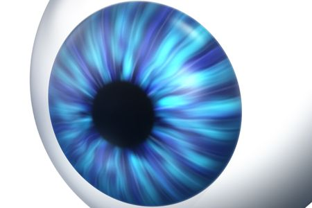 3d render of an eye