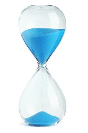 Blue hourglass