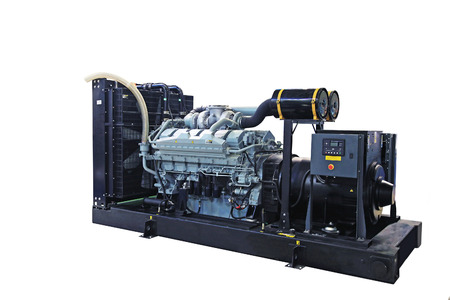 Mobile diesel generator for emergency electric power