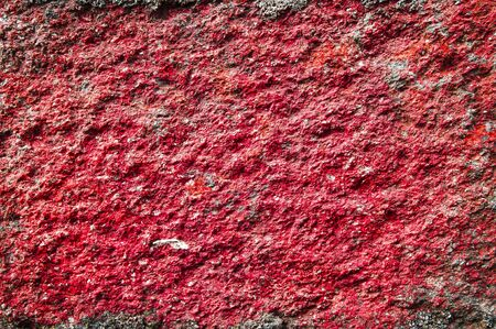 Close-up of colorful stone wallの写真素材