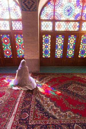 Shiraz, mosque nasir al-mulk, Iran