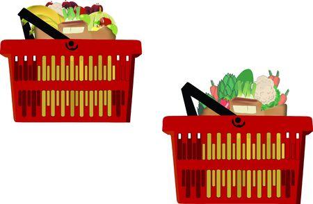 Foto per contenitori di frutta e Vegetale - Immagine Royalty Free