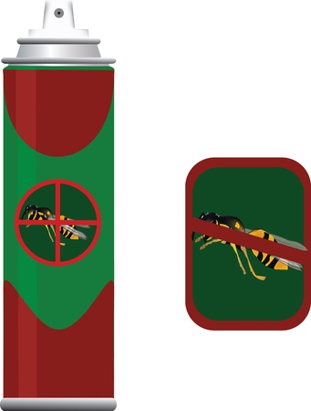 insecticide container