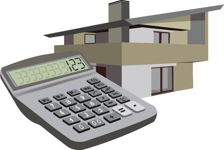 Foto per Calcolatore simbolo home home - Immagine Royalty Free