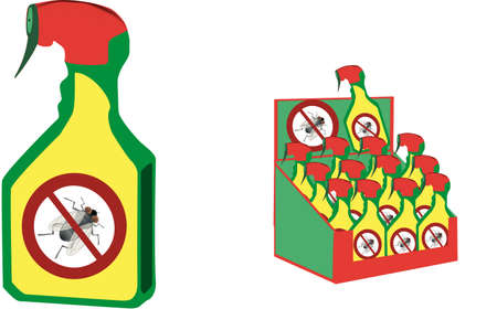 Foto per insecticide spray can for home use - Immagine Royalty Free