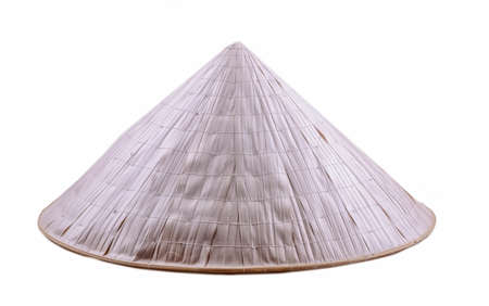 Foto de Vietnamese hat isolated on white background - Imagen libre de derechos