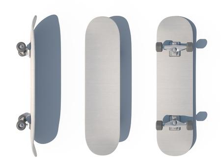 skateboard 3d cg