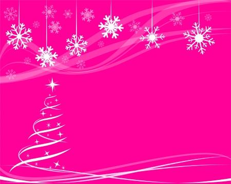 Illustration pour christmas tree for greeting card - image libre de droit
