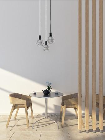 Photo for Coffee interior scene - Royalty Free Image