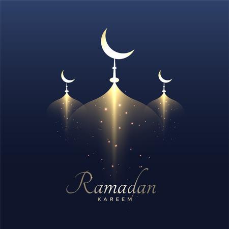 Illustration pour Awesome ramadan kareem design background - image libre de droit