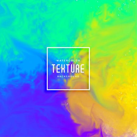Ilustración de abstract colorful bright ink flow watercolor background - Imagen libre de derechos