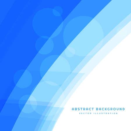 Illustration pour blue abstract wave - image libre de droit