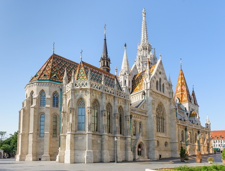 Foto per St Mathias Church in Budapest - Immagine Royalty Free