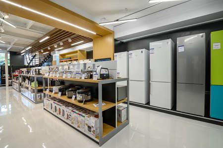 Photo pour Interior of premium domestic appliance store - image libre de droit