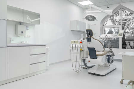 Photo for Interior of dental surgery room with special equipment - Royalty Free Image
