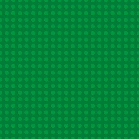 Illustration pour Green  plastic construction plate. Seamless pattern background. Vector illustration - image libre de droit