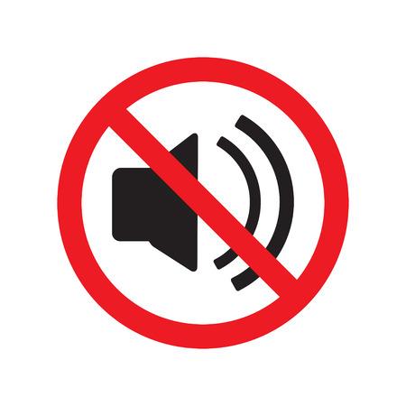 Illustration pour The no sound icon. Volume Off symbol. Flat Vector illustration. - image libre de droit
