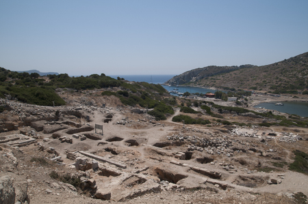 Knidos Ancient City. Datca.