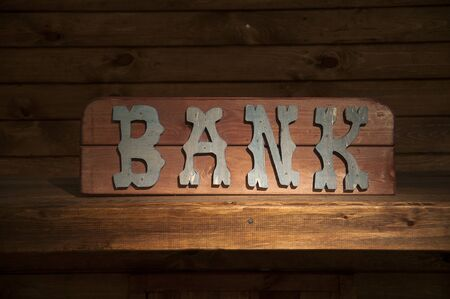 Western Bank sign