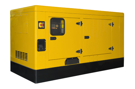 Photo for Big generator isolated on a white background - Royalty Free Image